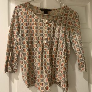 Marc Jacobs printed jersey top size Small